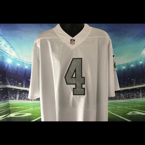 1534d0e8d Oakland Raiders  4 Derek Carr. NWT